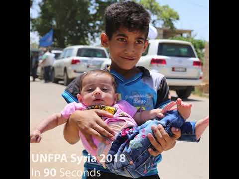 UNFPA Syria 365 days in 90 seconds