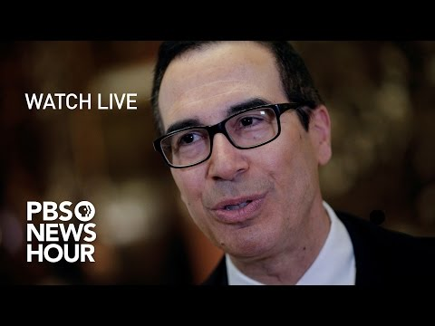 WATCH LIVE: Steven Mnuchin confirmation hearing