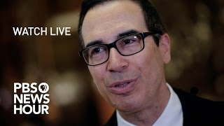 WATCH LIVE: Steven Mnuchin confirmation hearing by : PBS NewsHour