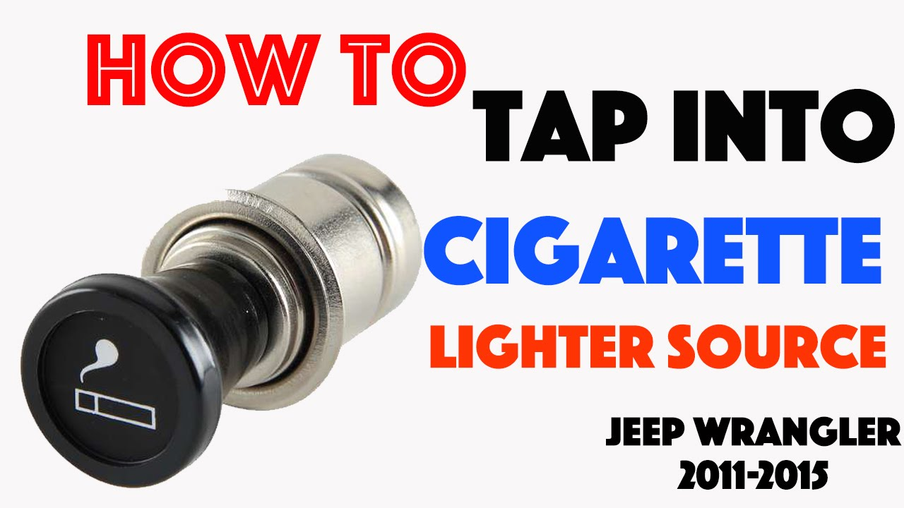 cigarette lighter power source jeep wrangler 2011 2015 [ 1280 x 720 Pixel ]