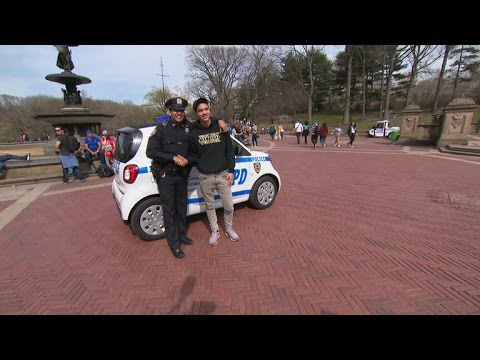 Smart cars give NYPD the right to remain adorable