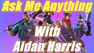 Ask Me Anything with Aidan Harris