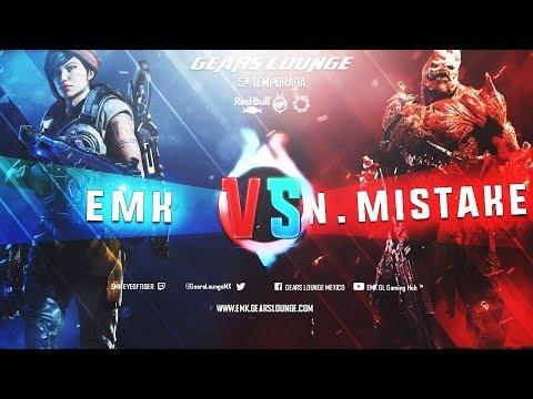 [ESP/MX] Liga Gears Lounge Quinta Temporada GOW 4 : Cuartos de Final EMK vs No Mistake y mas..