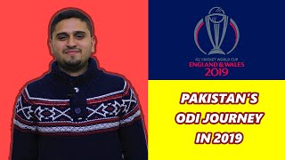 Pakistan's ODI Journey in 2019 | Performance in Cricket World Cup 2019