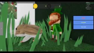 SIMULATEUR de hamster ROBLOX - Comment se cacher Leprechaun