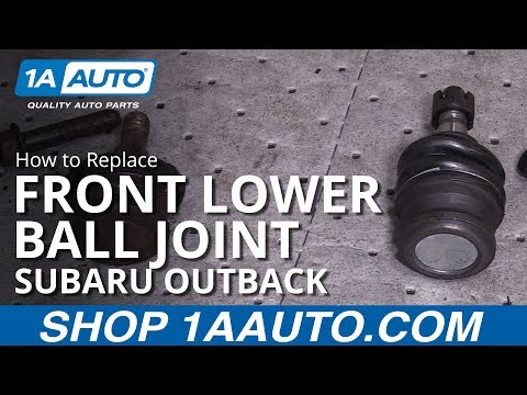 How to Replace Lower Ball Joint 00-17 Subaru Outback