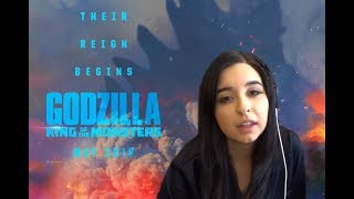 Godzilla: King of the Monsters - Official Trailer 1 REACTION!!
