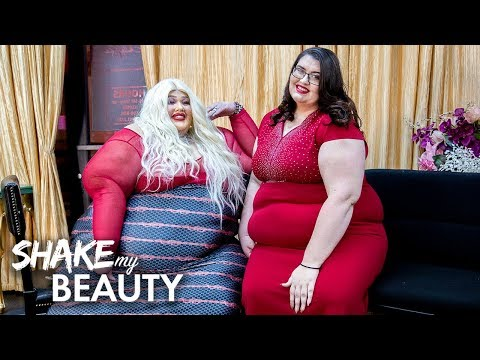 550lb Beautician Launches Plus-Size New Salon And NightClub | SHAKE MY BEAUTY
