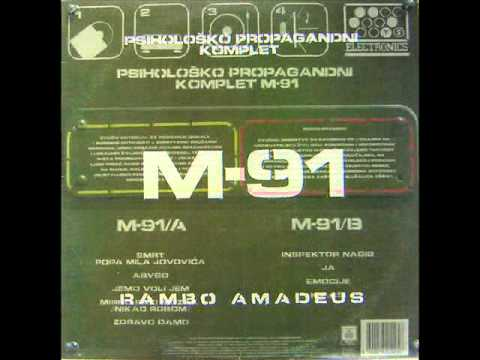 Rambo Amadeus....Psihološko Propagandni Komplet M 91