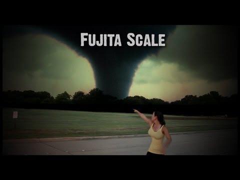 Tornado Damage Levels F0 - F5 - YouTube