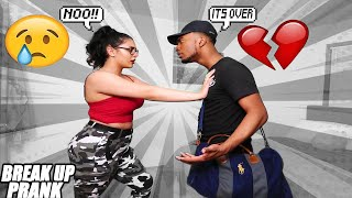 BREAK UP PRANK ON GIRLFRIEND 💔| I LOST FEELINGS FOR YOU *GONE WRONG* SHE CRIES 😢(MUST WATCH)