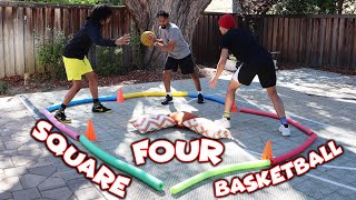 The FOUR-SQUARE Basketball Challenge!