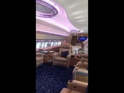 Prince of Abu Dhabi - sheikh Mohammed bin zayed flight