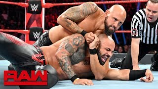 HINDI - The Club sends a message to Ricochet: Raw, July 9, 2019