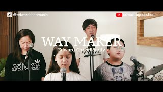 Way Maker - Edward Chen Family from Indonesia ( Worship from Home ) Family Worship