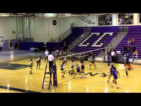 2012 PSAL Girls Volleyball Semifinal - Cardozo vs Bronx Science - Set 2