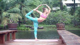 Йога для начинающих, гибкое тело / Yoga for beginners, stretching