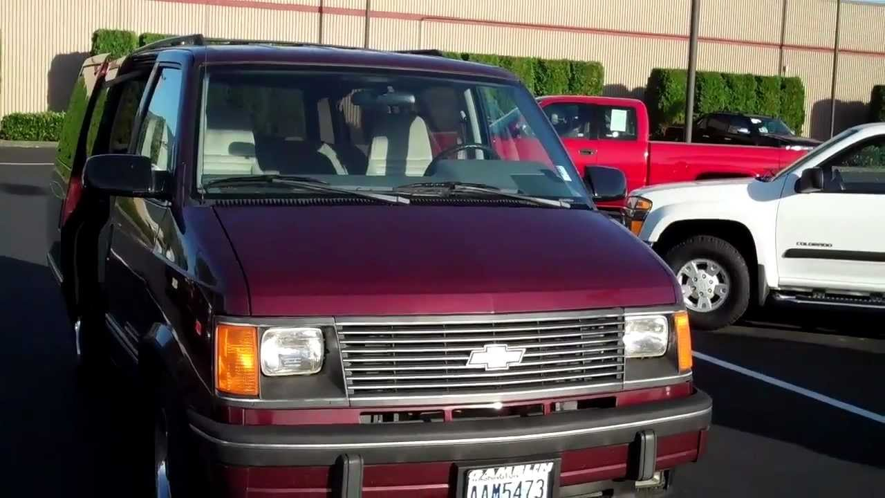 Chevy Astro Van >> Chevrolet Astro Van EXT Art Gamblin Motors Tim Smith V2240A - YouTube