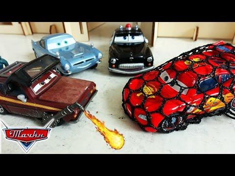 Тачки Молния МАКВИН - Гонка! Новые мультики про машинки для детей малышей Игрушки Disney Cars