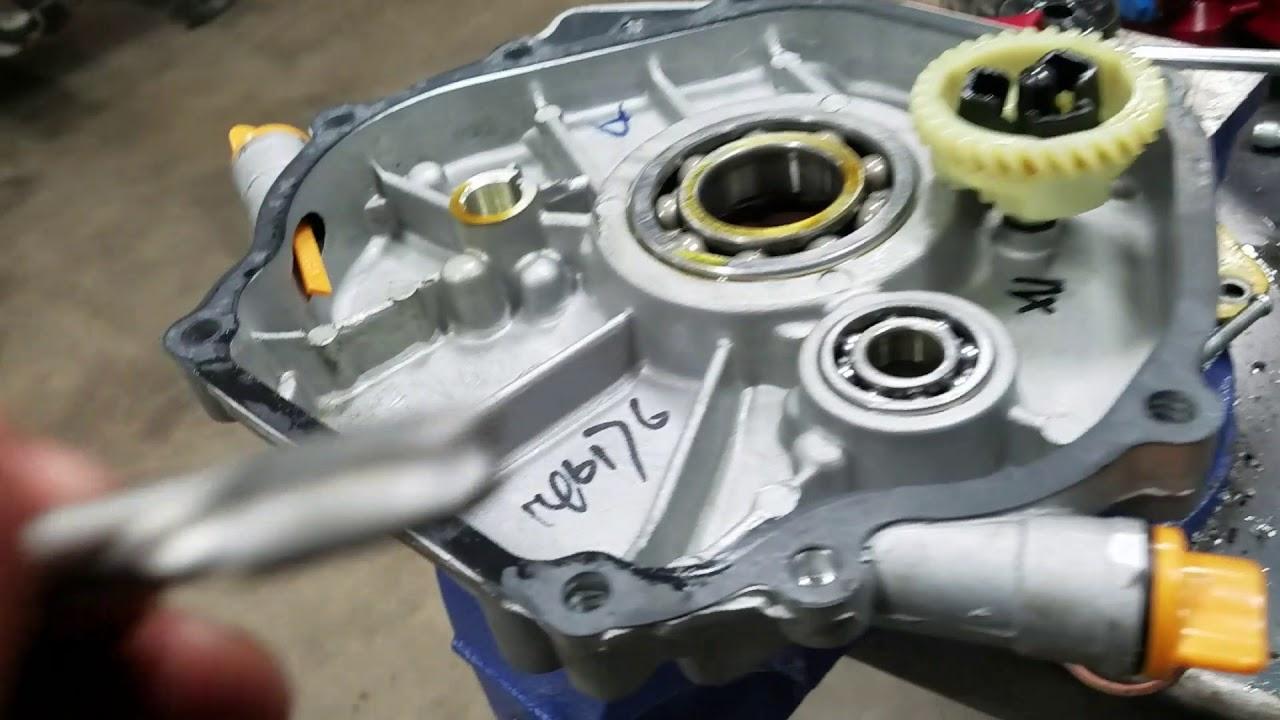 Cub Cadet 1250 420cc predator repower part 1
