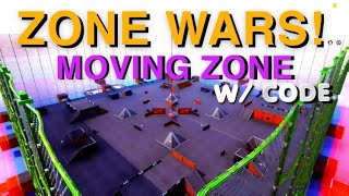 ZONE WARS | End Game Scrims w/ Code & Moving Zone | ( Fortnite Creative )