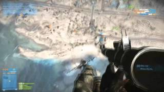 Battlefield 3 | BF3 | Incredibly Skilled RPG-7V2 Kill From a Jet