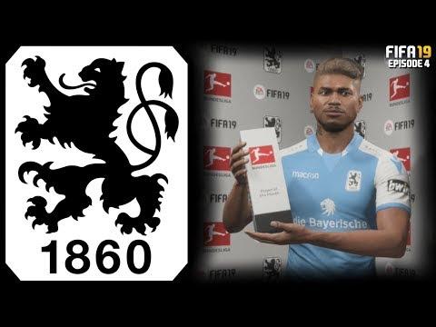 FIFA 19 CAREER MODE 1860 MUNCHEN RTG - #4 THE BUNDESLIGA!!