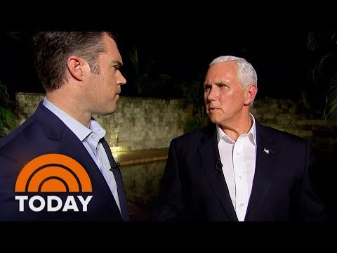 Vice President Mike Pence Condemns White Supremacists, KKK, While Defending Donald Trump | TODAY