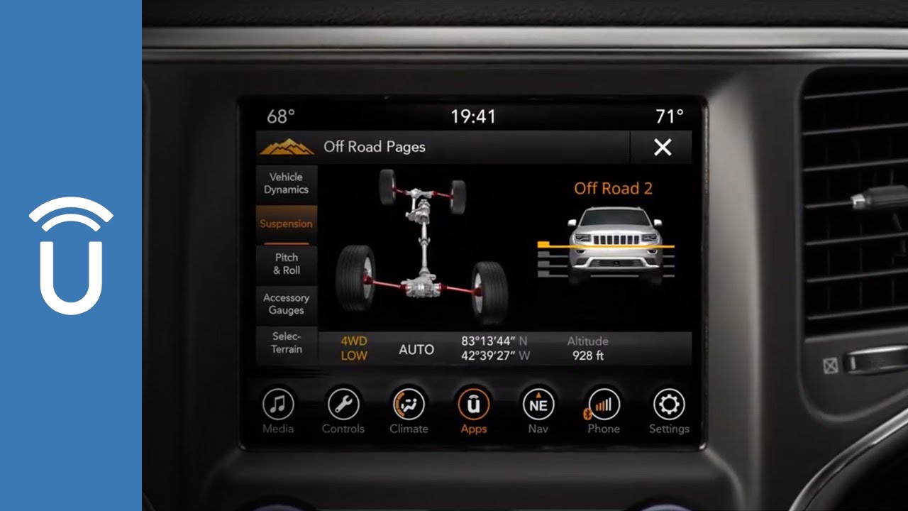 Vehicle User Guide On Your Uconnect Touchscreen Chrysler Dodge