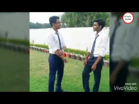 BNCET, Lucknow,fb page :B.Tech dudes.... COLLEGE PANGA VIDEO