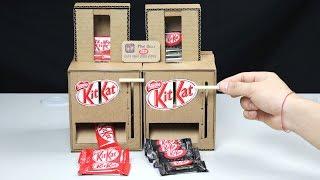 Wow! DIY KitKat Chocolate Vending Machine