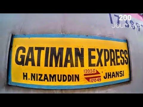 Gatimaan Express | Delhi to Jhansi full journey