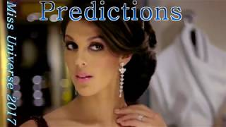 Miss Universe 2017- top 10 - Prediction may-june - My favourites