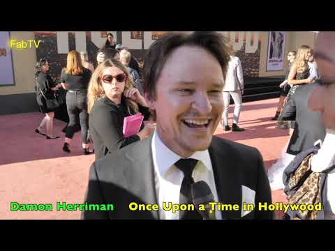 Damon Herriman  is 'Charles Manson' in  Once Upon a Time in Hollywood