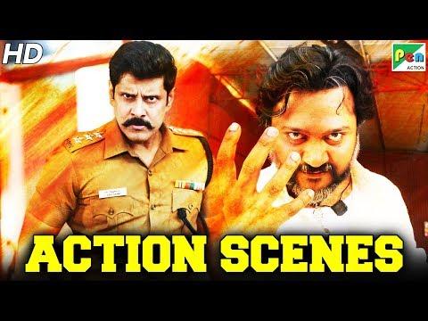 Vikram - SuperHit Action Scenes | Saamy² | New Released Full Hindi Dubbed Movie | Keerthy Suresh