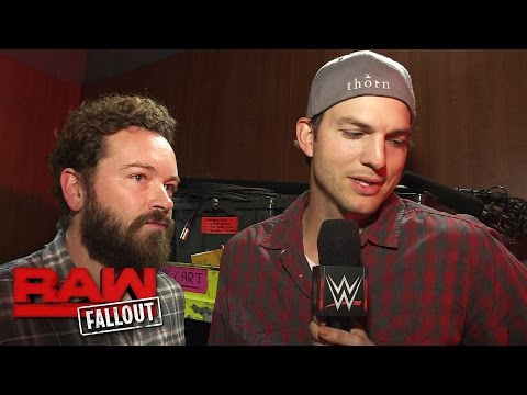 Ashton Kutcher and Danny Masterson reflect on their experience at Raw: Raw Fallout, Oct. 3, 2016