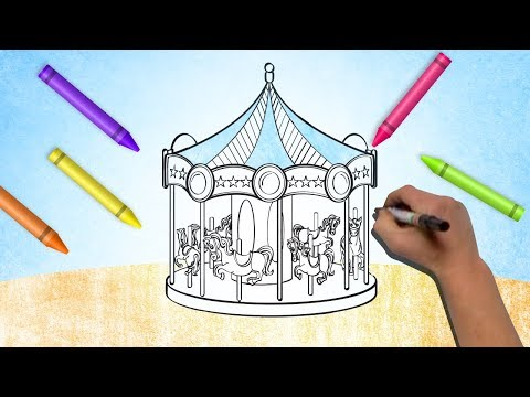 Drawings & Painting For Kids | Fun Kids Games Coloring Book | Learning Colors From Color World