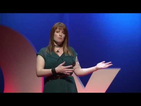 Heather Jarvis and Sonya JF Barnett at TEDxToronto