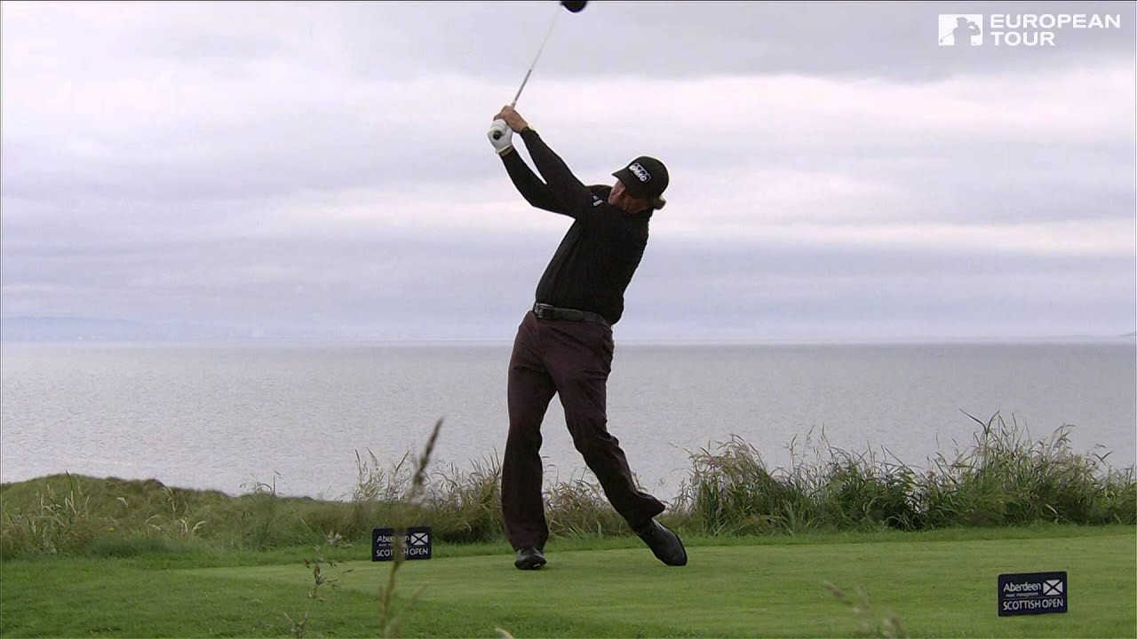 Phil Mickelson Slow Motion Golf Swing Driver Youtube