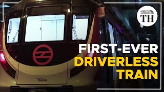 Features of India's first-ever driverless train