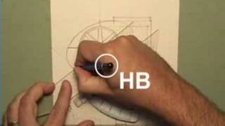 How to draw with lead