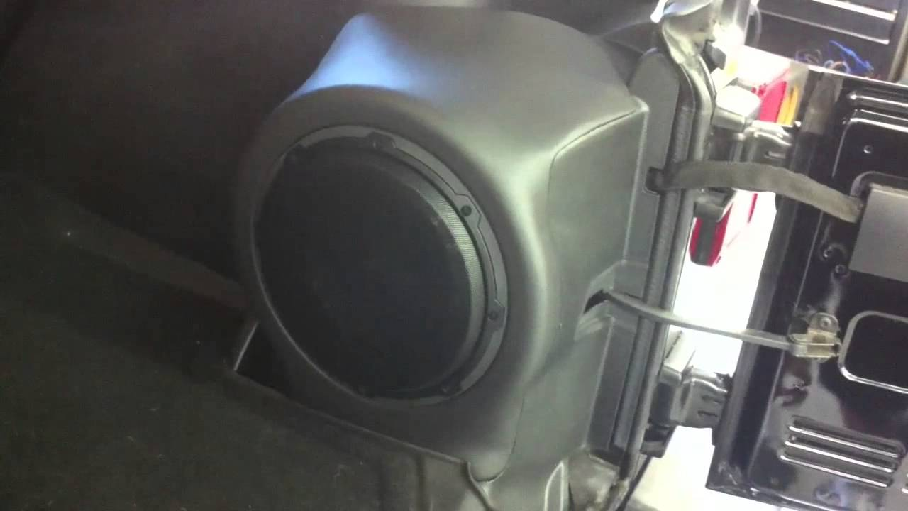 Jeep Wrangler Jk Custom Side Pannel Sub Box Youtube