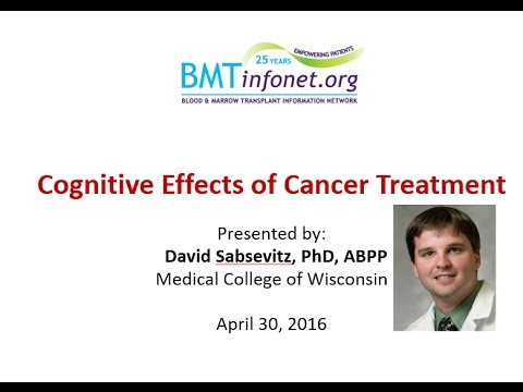 Cognitive Effects of Cancer Treatment  Chemobrain and How to Treat it