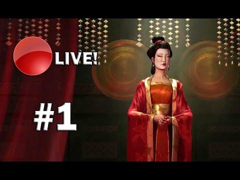Civilization V: BNW - CHINA - O INÍCIO DA SÉRIE EM LIVE! #Live 1
