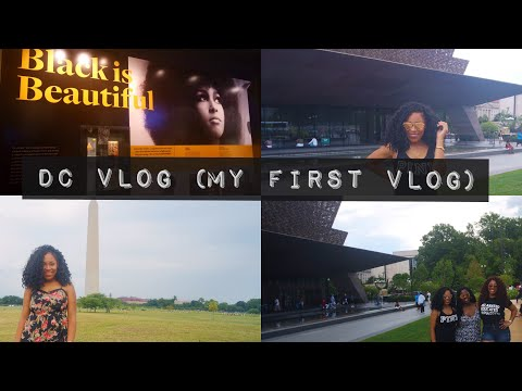 DC VLOG (MY FIRST VLOG)| National Museum of African American History & Other Shenanigans