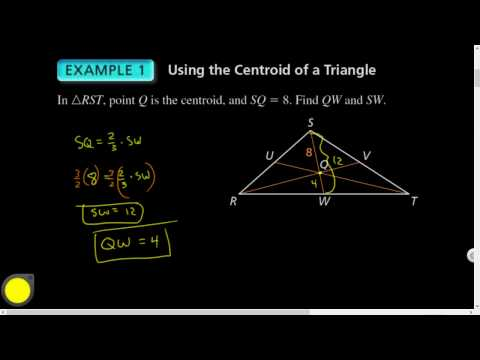 06.03 Medians and Altitudes of Triangles