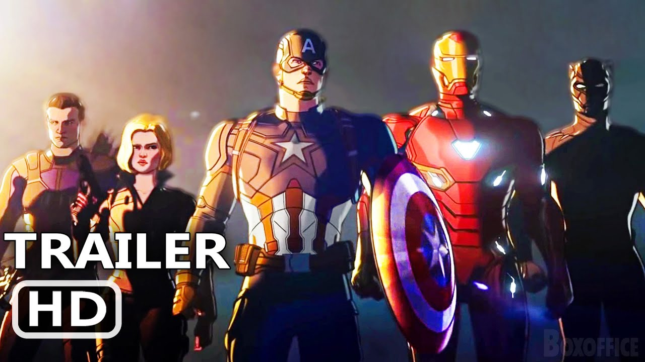 """WHAT IF... ? """"New Avengers"""" Trailer (2021)"""