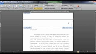 Numerar páginas word a partir de uma página específica (a partir da introdução ABNT)