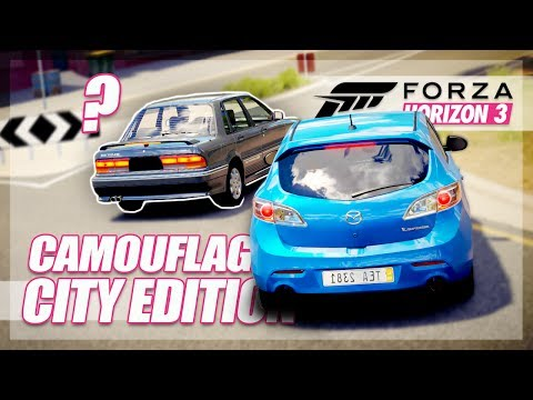 Forza Horizon 3 - Camouflage City Edition (with a Twist)