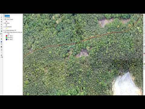 Drone Survey - 3D Modelling With GIS For Exploration/Mining  Project,Lanka By Www.globalmining.in